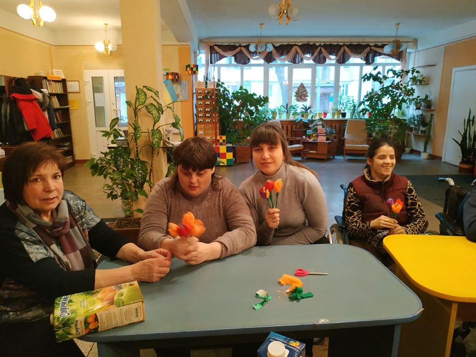 Парафіяльний Карітас організовує майстер-класи для молоді з інвалідністю