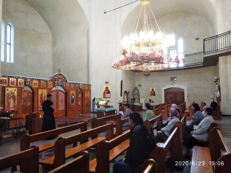 Зустріч з активними мирянами львівської громади Воздвиження Чесного і Животворящого Хреста Господнього
