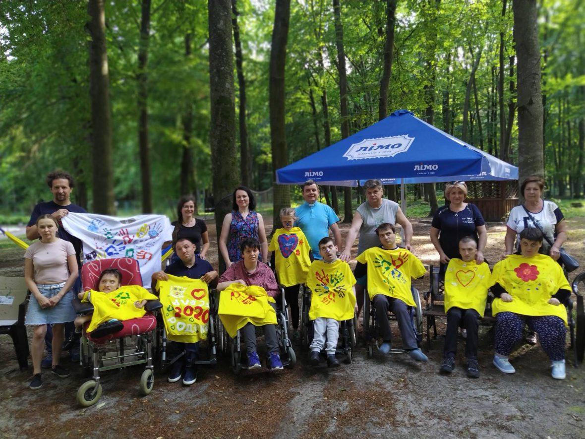 Парафіяльний Карітас організував табір для молоді з інвалідністю