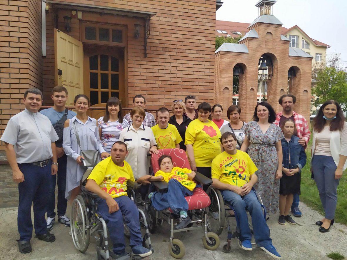 Парафіяльний Карітас організував свято для молоді з інвалідністю