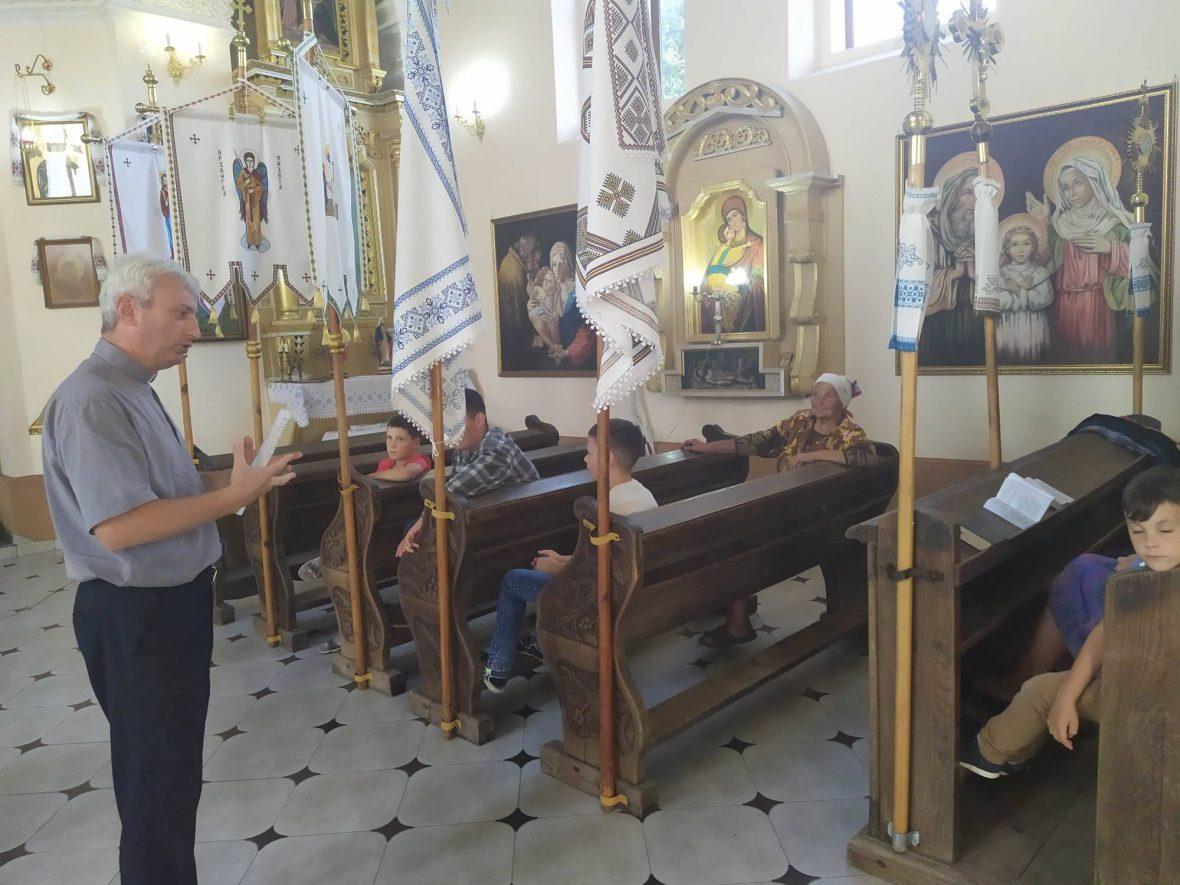 Зустріч з активними парафіянами у Поморянах