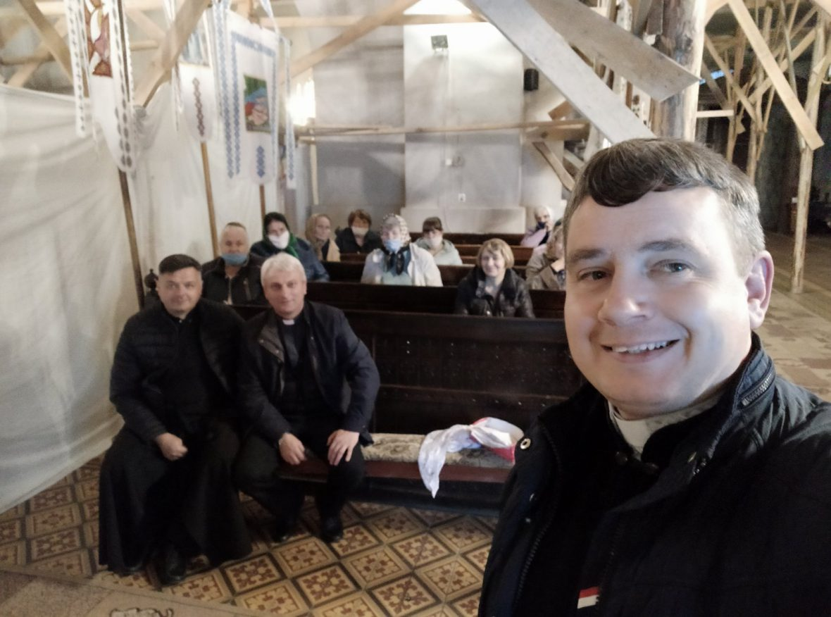 Відбулась зустріч із парафіянами церкви Св. влкмч. Юрія Переможця м. Яворів