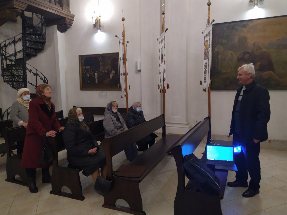 16 жовтня відбулась зустріч із парафіянами храму Святої Софії