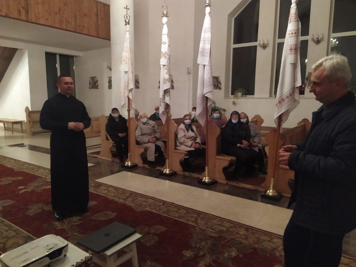 """Відбулась зустріч """"Активізація соціального служіння на парафіях"""" у церкві Перенесення мощей святителя Миколая"""