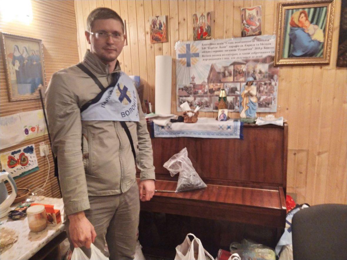 Волонтери парафіяльногоКарітасухраму Святих Кирила і Методія зібрались з нагоди Міжнародного дня волонтера