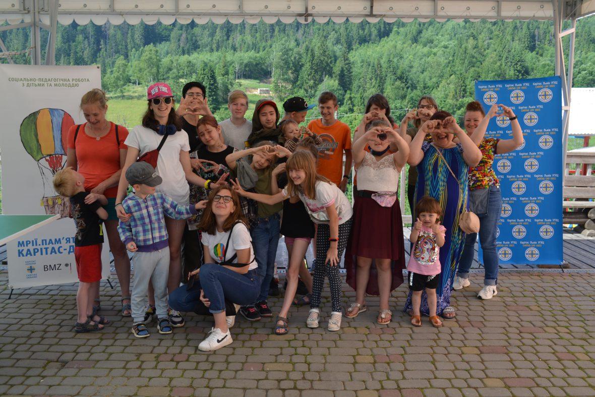 Благодійний фонд «Карітас-Львів УГКЦ» організував сімейний табір «Відпочинок заради єднання»