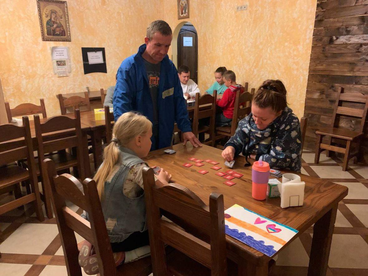 Вперше БО БФ «Карітас-Львів УГКЦ» організовує табір для татів та їх дітей